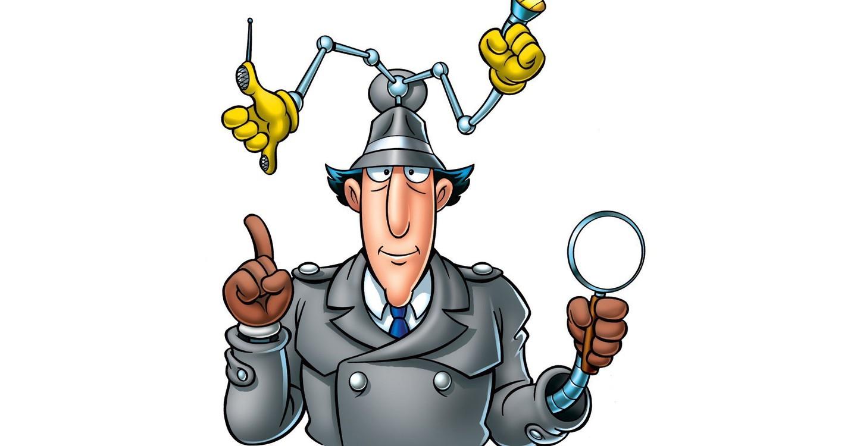 """The Cloak"" `V` ""I. Spy""  and so on! Inspector-gadget"