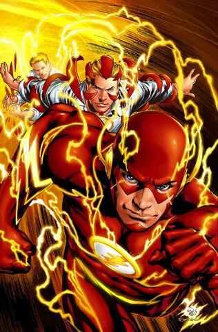 Tournoi des Personnages Préférés DC Comics (on vote pour nos persos préférés, on ne se base pas sur la force) - Page 5 316px-Flash_0006