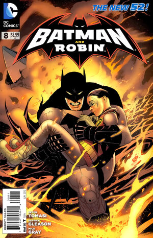 51 - [DC Comics] Batman: discusión general 300px-Batman_and_Robin_Vol_2_8
