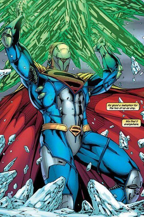 Akryptopolis sur mer (pv Justice league) 500px-Kryptonite-Suit