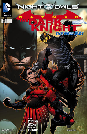 [DC Comics] Batman: discusión general 300px-Batman_The_Dark_Knight_Vol_2_9