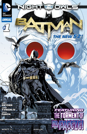 Tag 19-20 en Psicomics 300px-Batman_Annual_Vol_2_1
