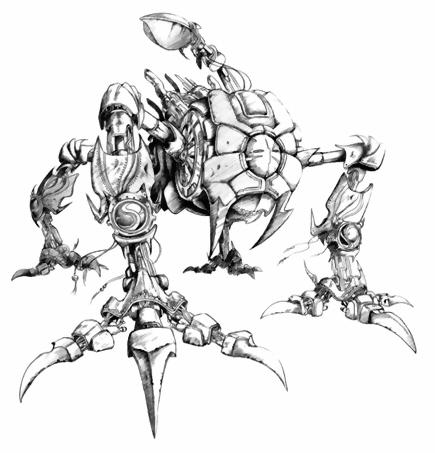 Bestiario: Monstruos normales minas de mitrilo Omega_FFV_Artwork