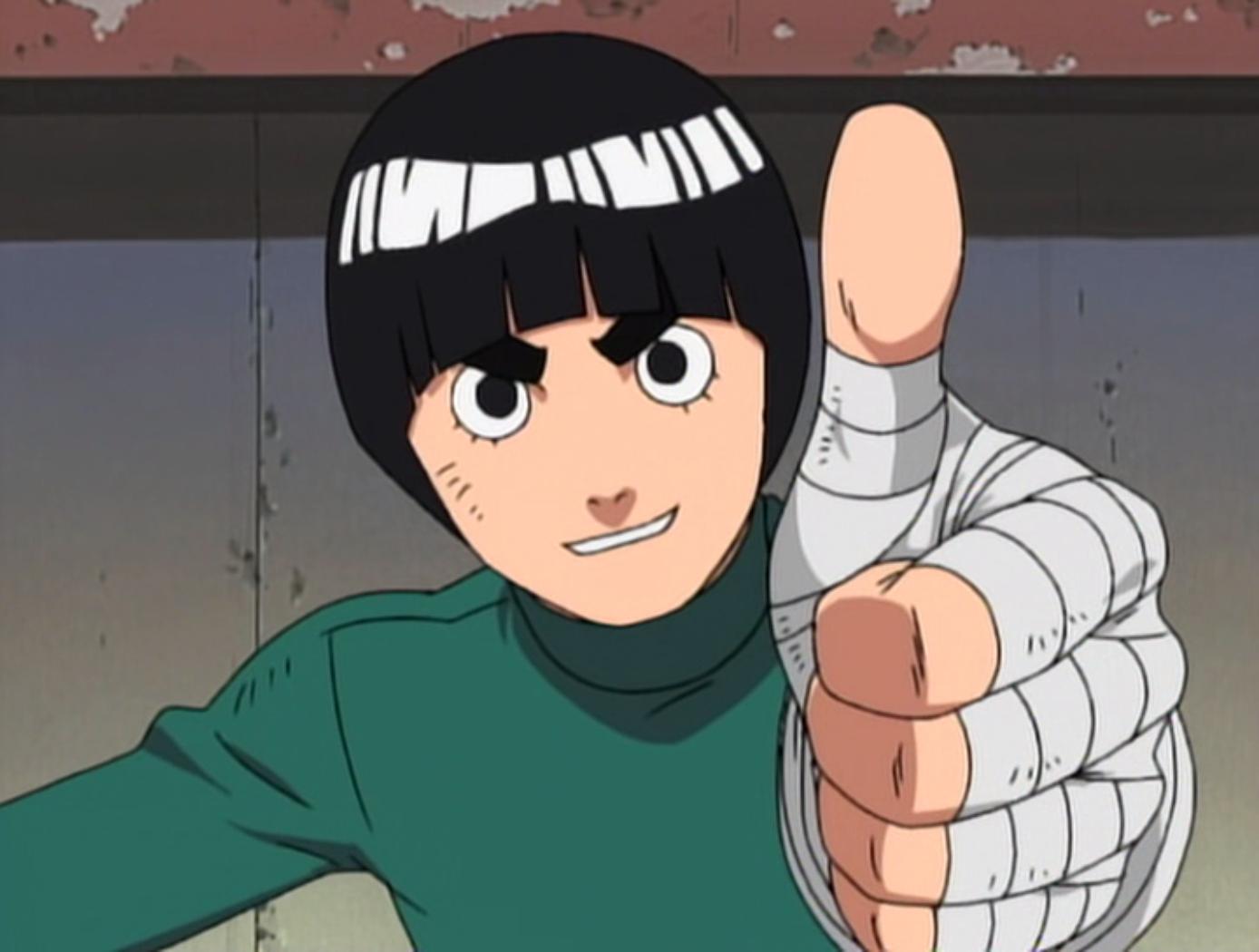 manga - Avis final sur le manga Naruto.  Lee_Pose