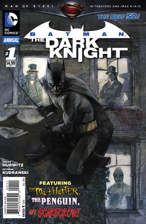 51 - [DC Comics] Batman: discusión general 300px-Batman_The_Dark_Knight_Annual_Vol_2_1
