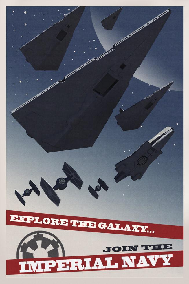 [Epic] Imperiale Großschiffe Starwarsrebelsposterstardestroyers