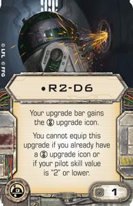 Wieviel ist ein roter Würfel wert? R2-d6