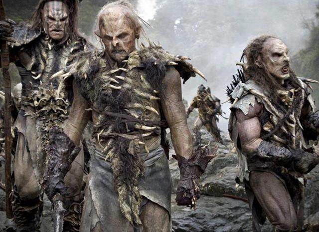 LAS RAZAS DE LA TIERRA MEDIA Orcs