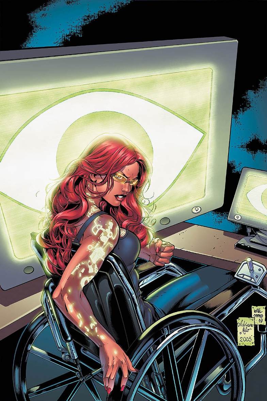 Tournoi des Personnages Préférés DC Comics (on vote pour nos persos préférés, on ne se base pas sur la force) - Page 6 Oracle_0009