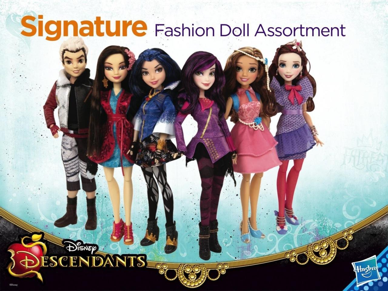 Descendants [Disney Channel - 2015] - Page 5 Descendants_Hasbro_01