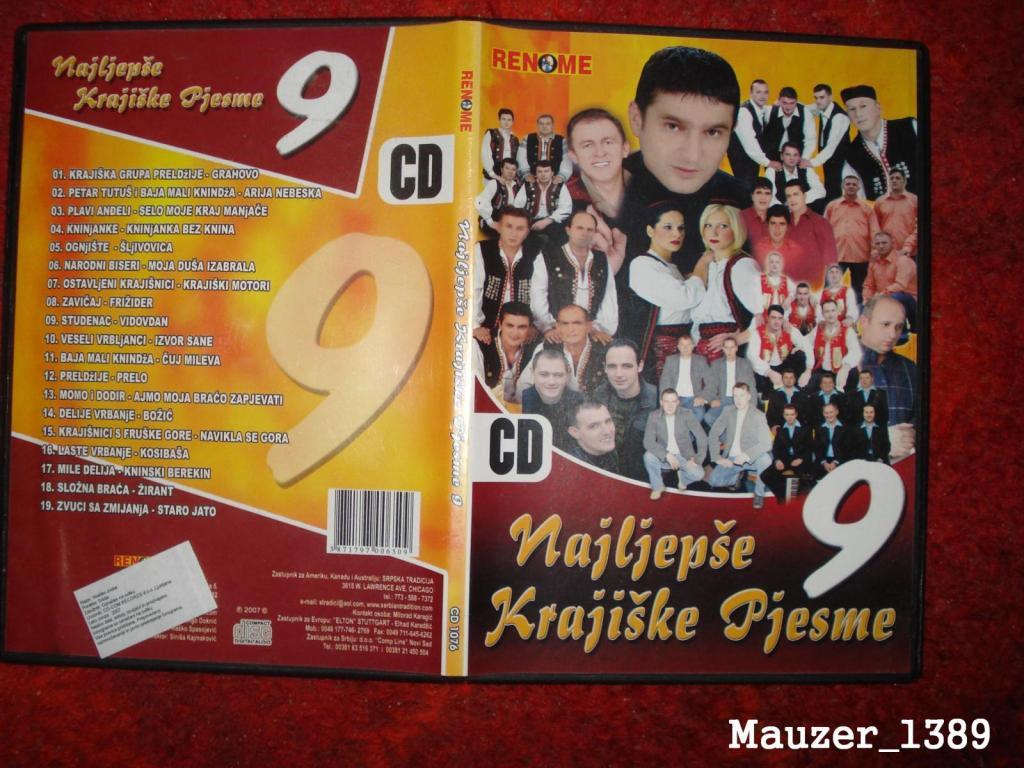 Najljepse Krajiske Pjesme -Diskografija PQCVWRId