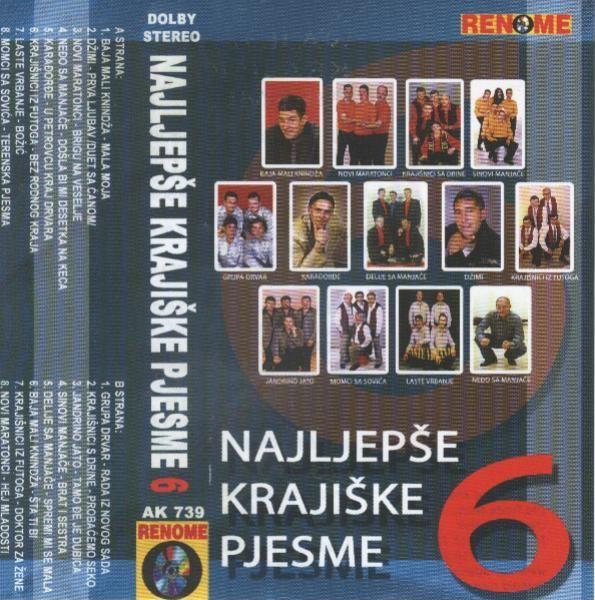 Najljepse Krajiske Pjesme -Diskografija VQEZKZo1