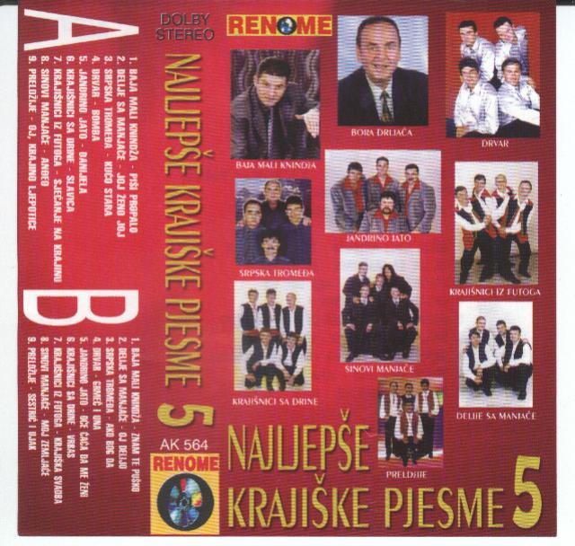 Najljepse Krajiske Pjesme -Diskografija EyK8FeUc