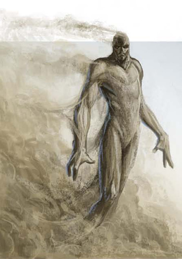 Description des Lieux et monstres présents Sand_golem_-_Ben_Wootten