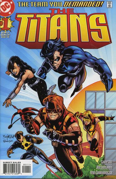 [Comics] Siguen las adquisiciones 2015 - Página 15 Titans_Vol_1_1