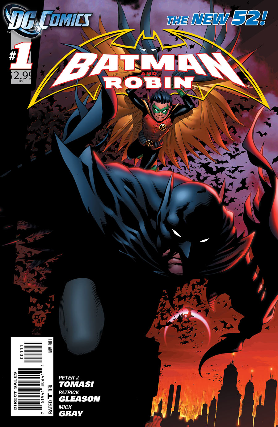 51 - [DC Comics] Batman: discusión general Batman_and_Robin_Vol_2_1