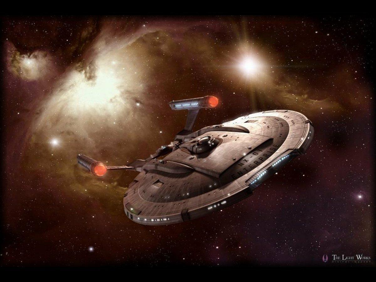 2014: Warp Drive Space Craft NX-01-Enterprise-star-trek-enterprise
