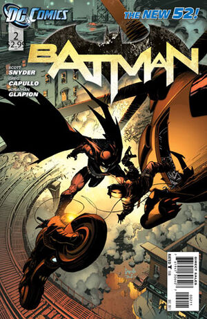 51 - [DC Comics] Batman: discusión general 300px-Batman_Vol_2_2