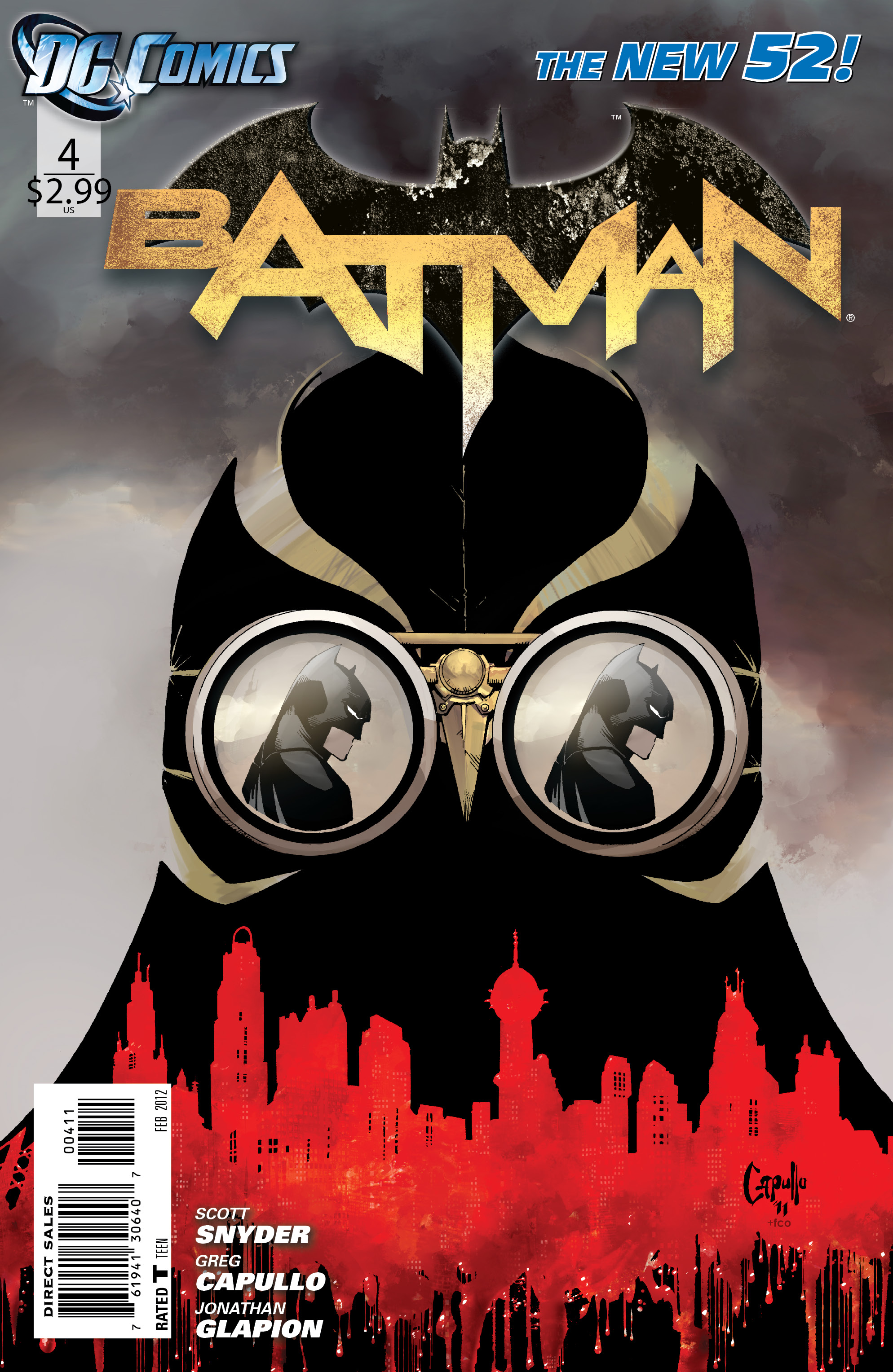 51 - [DC Comics] Batman: discusión general Batman_Vol_2_4