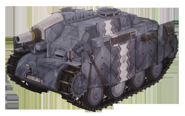 Gallia - To Arms! Gallian_Tank_Destroyer