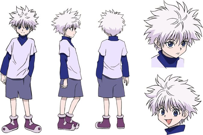Pokémon: Saikyou no Chousen Killua_Design