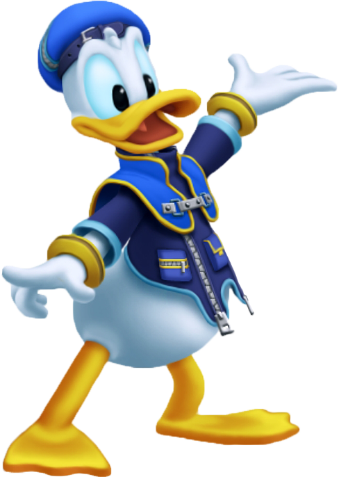 Characters kingdom hearts DonaldKH2
