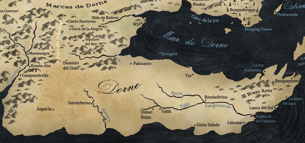 Poniente.... Mapa_Dorne