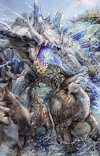 Item resubmissons Lagiacrus_Subspecies_Artwork