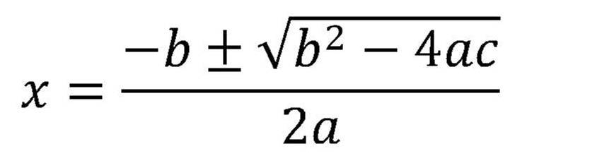 Most random thing you've seen or done today in real life? - Page 21 Quadratic_Formula