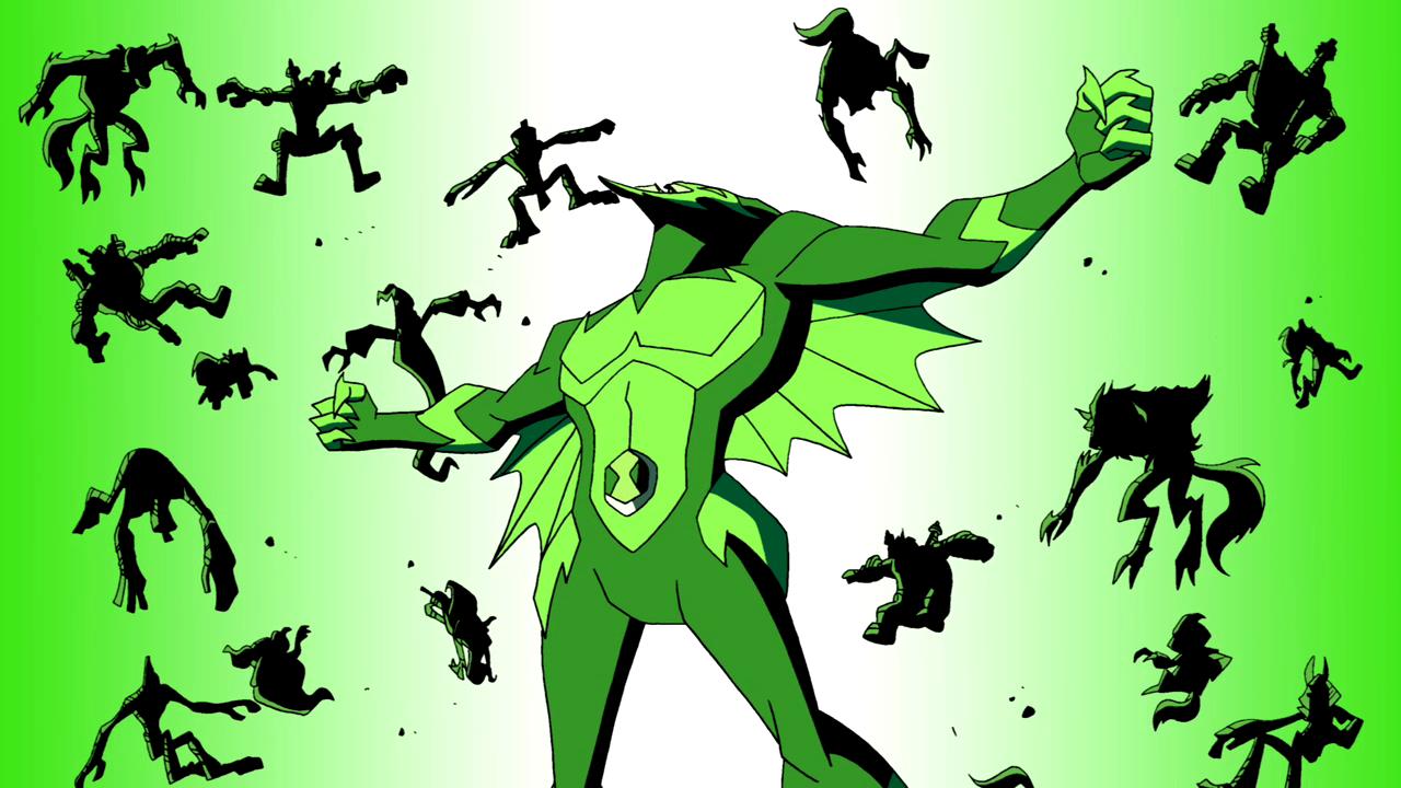 All Of Ben's Aliens In Omniverse Design Sonic_Explosion