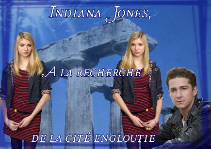 Indiana Jones, à la recherche de la cité engloutie