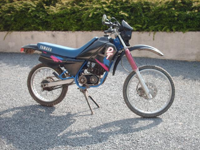 Réstauration d'un DT-MX 50 à vitesses auto de 1983 002-d800a1