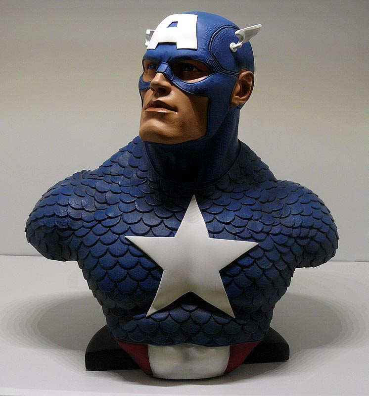 CAPTAIN AMERICA Legendary scale bust P1040991-15974fe