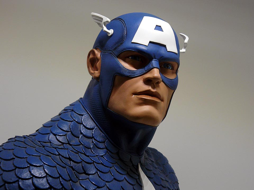 CAPTAIN AMERICA Legendary scale bust P1050001-1597573