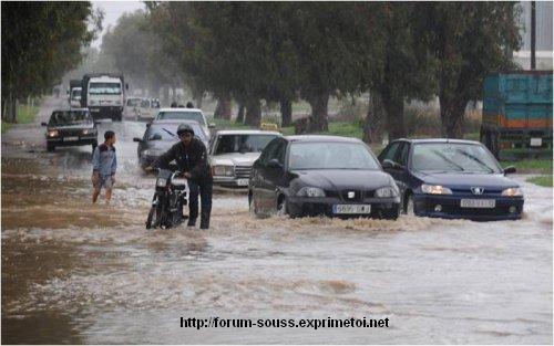 Photos de Casablanca sous le deferlement du Deluge Mimouni_i1-3--23410c3
