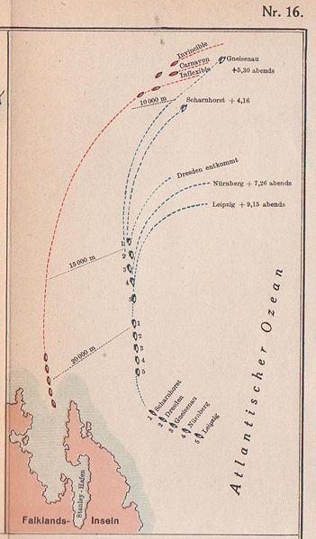 Tsing Tao, 1914. Falklandschlacht-12eeb3c