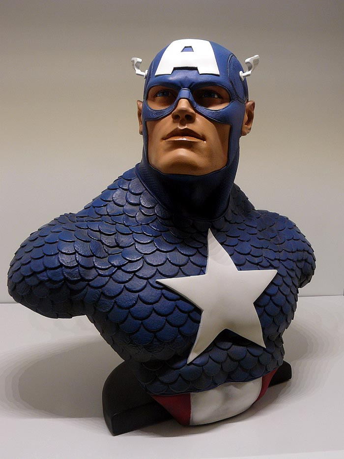 CAPTAIN AMERICA Legendary scale bust P1040990-15974ee