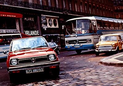 Civic de première génération 1973-1979 : SB, CVCC etc. Paris-1972-167affd