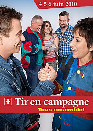 Tir Fédéral en Campagne 2010: Demandez le programme... Affiche-1c01c8f