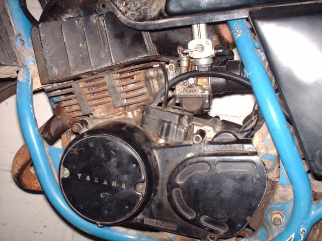 Réstauration d'un DT-MX 50 à vitesses auto de 1983 006-d8096f