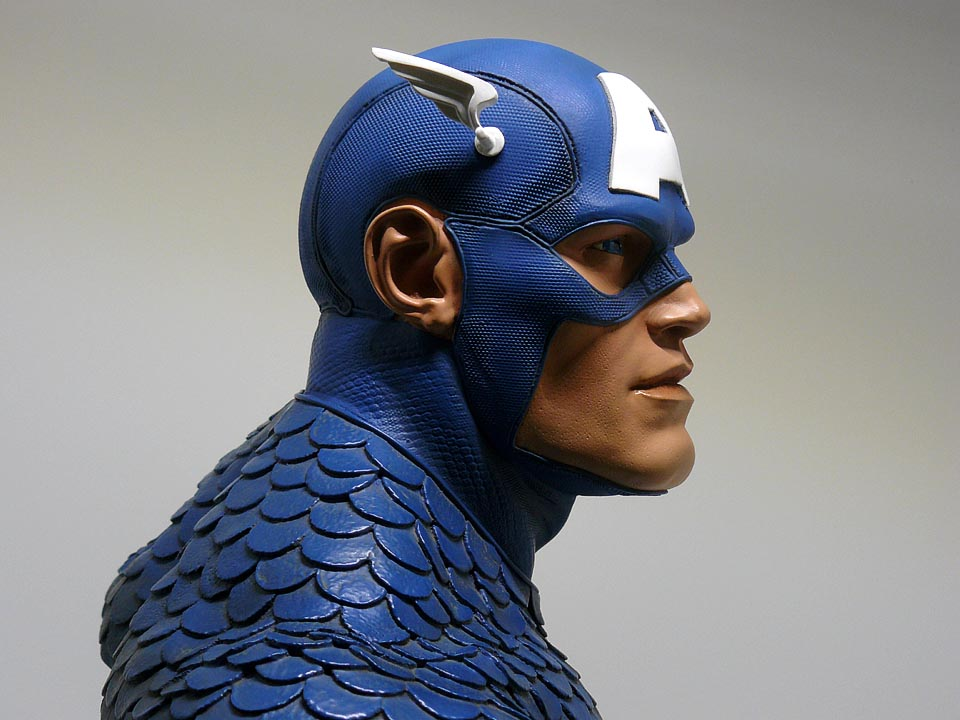CAPTAIN AMERICA Legendary scale bust P1040999-1597523