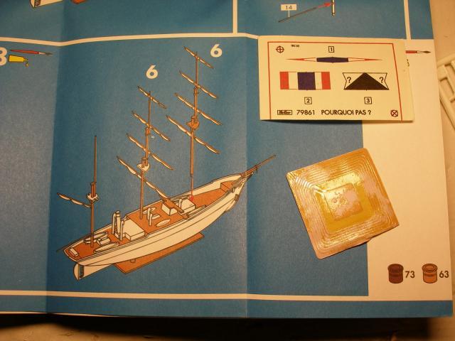 3-mâts barque Pourquoi-Pas? (Heller 1/400°) de Soldier of fortune Plan-c75d81
