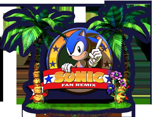 Sonic Fan Remix, Sonic 2 revisité par pelikan13 et Mercure Logo-219bda1