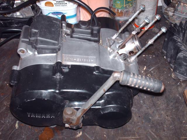 Réstauration d'un DT-MX 50 à vitesses auto de 1983 006-d63b4d
