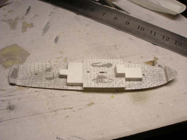 3-mâts barque Pourquoi-Pas? (Heller 1/400°) de Soldier of fortune 7-pont-c8a3b4