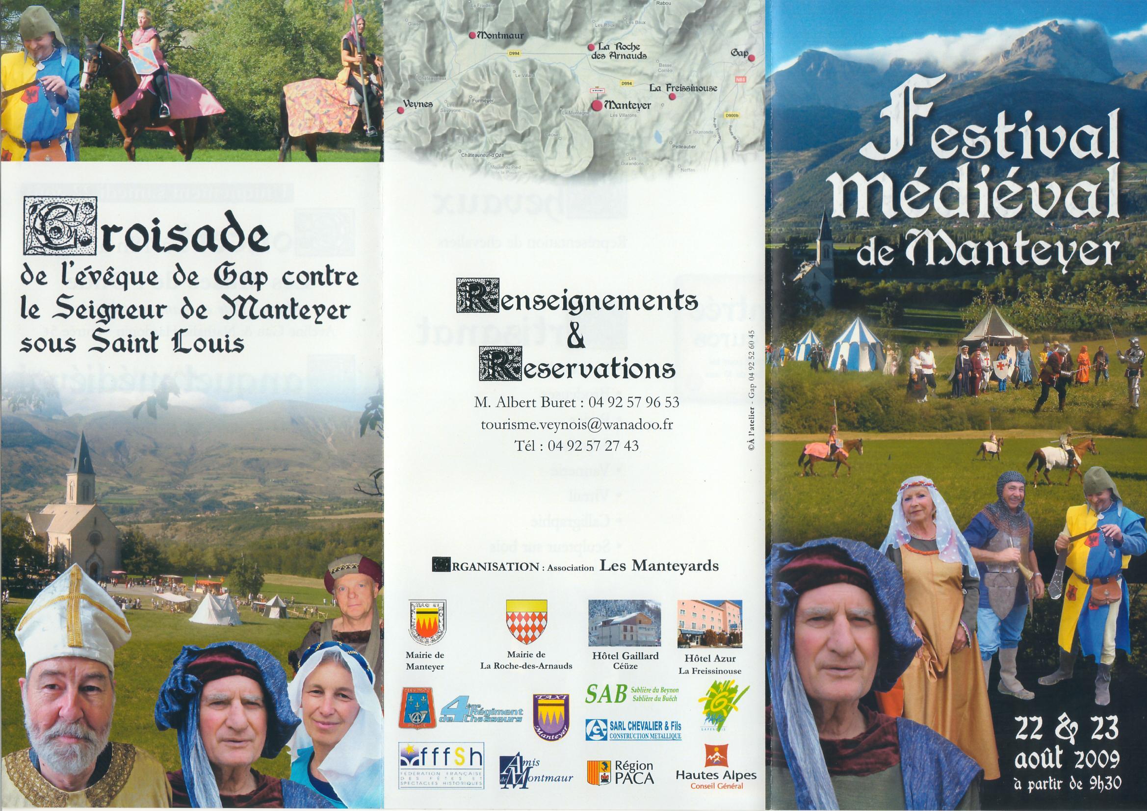 Fete Médiévale de Manteyer - 22-23 Aout 2009 Scan-10663f0