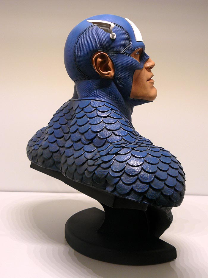 CAPTAIN AMERICA Legendary scale bust P1040998-1597550
