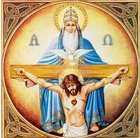 BEAUTÉS DE L'ÉGLISE CATHOLIQUE: SON CULTE, SES MOEURS ET SES USAGES; SUR LES FÊTES CHRÉTIENNES - Allemagne - 1857 Trinite1-5a6950