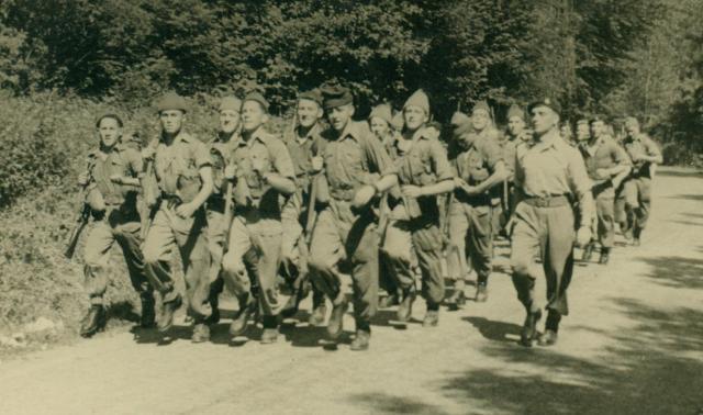Marche-les Dames en 1950: Speed marche Albert020-123bb96