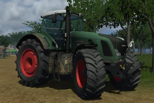 tracteur Fendt 936 936dirtywjwb